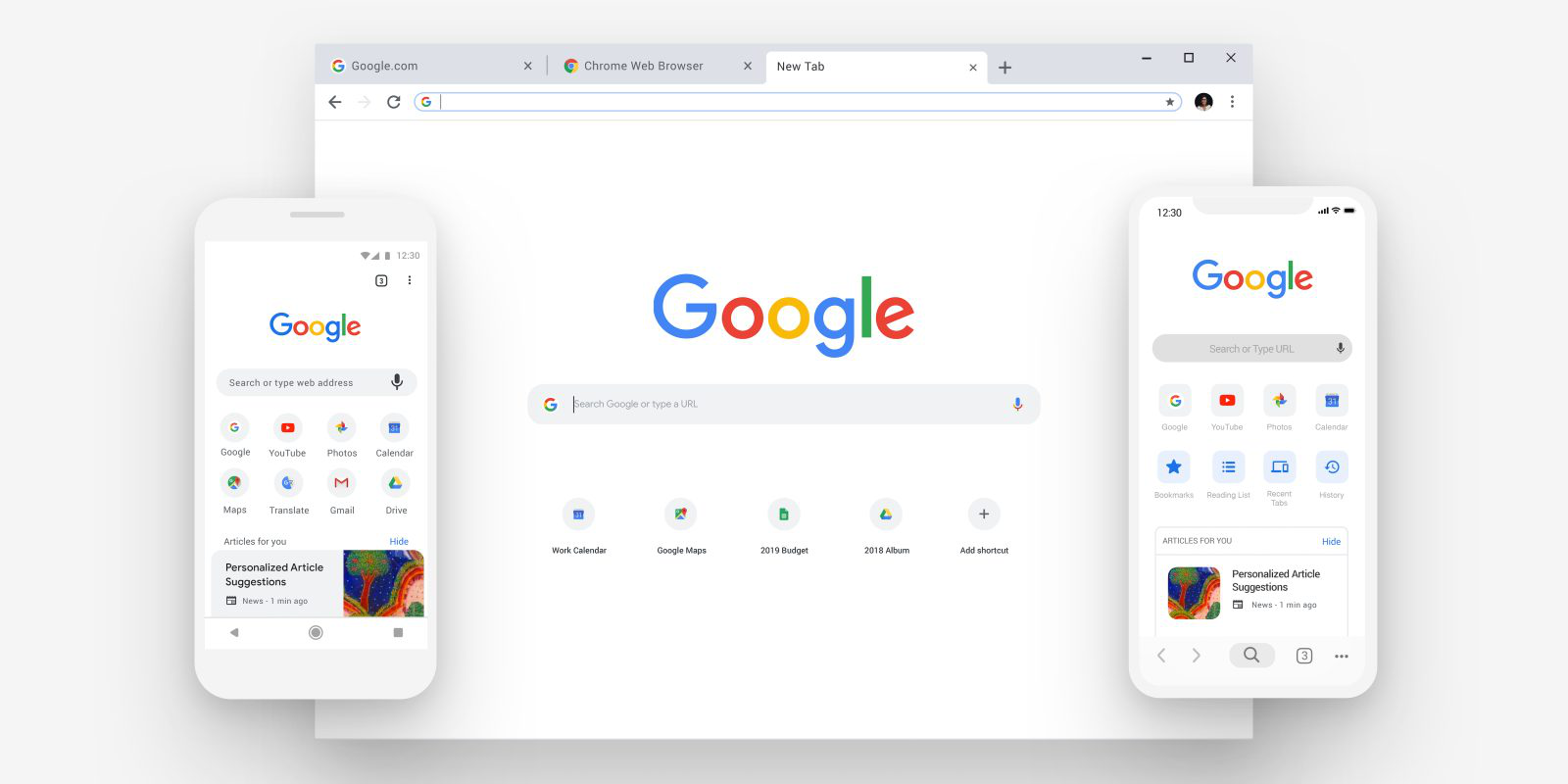 Google Chrome, nuovo look!